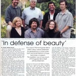 Daniel W. Pinkham Featured in Peninsula People Magazine July 2005 Issue