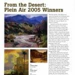 Daniel Pinkham in American Artist Magazine Summer 2005 Issue
