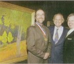 Daniel W. Pinkham Receives Gold Medal Honors American Artist Magazine 2006
