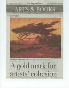 Los Angeles Times A Gold Mark Artists Cohesion