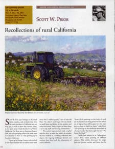 recollections of rural California
