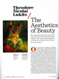 Theodore Nicolai Lukits/ The Aethetics of Beauty