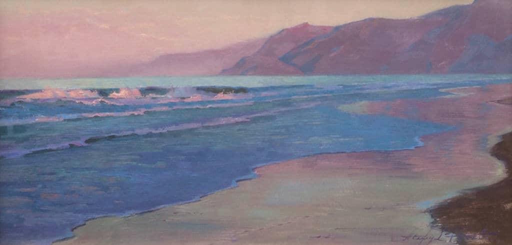 Day's First Light; Santa Monica Beach