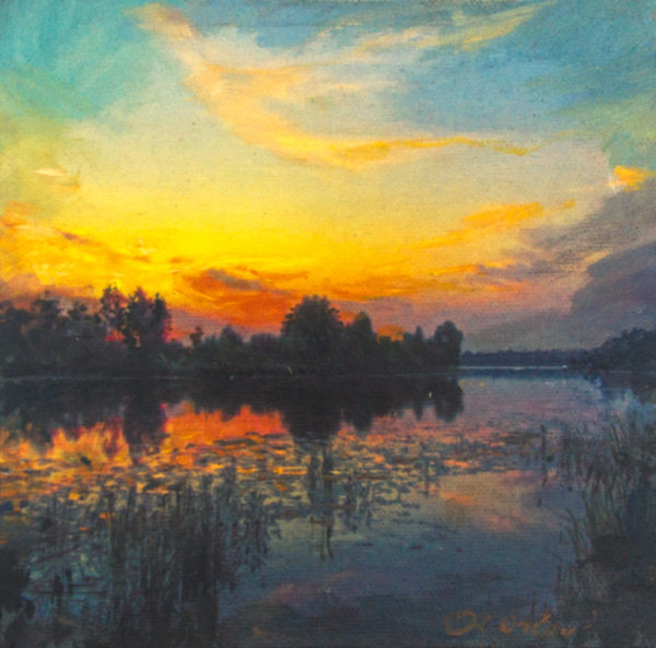 "American Legacy Fine Arts presents ""Late Summer"" a painting by Alexander V. Orlov."
