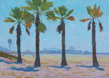 "American Legacy Fine Arts presents ""California Summer"" a painting by Eric Merrell."