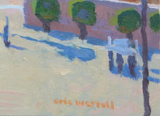 "American Legacy Fine Arts presents ""Sand and Sea"" a painting by Eric Merrell."
