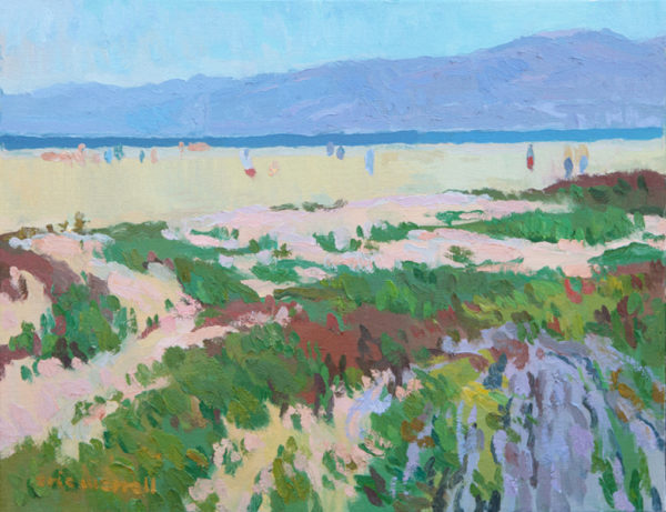 "American Legacy Fine Arts presents ""Salt Air"" a painting by Eric Merrell."