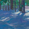 """American Legacy Fine Arts presents """"Like Sunlight on Snow"""" a painting by Eric Merrell."""