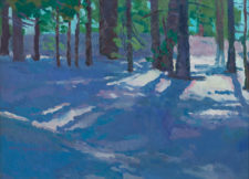 "American Legacy Fine Arts presents ""Like Sunlight on Snow"" a painting by Eric Merrell."