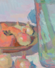 "American Legacy Fine Arts presents ""Thanksgiving"" a painting by Eric Merrell."