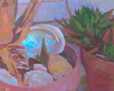 "American Legacy Fine Arts presents ""The Heat Approaches"" a painting by Eric Merrell."