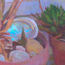 """American Legacy Fine Arts presents """"The Heat Approaches"""" a painting by Eric Merrell."""