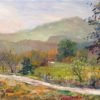 "American Legacy Fine Arts presents ""Old Road, Las Virgenes Canyon"" a painting by George Gallo"