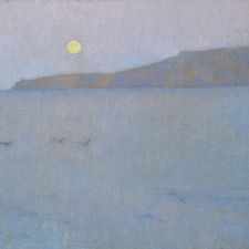 Moonrise, Santa Rosa Island