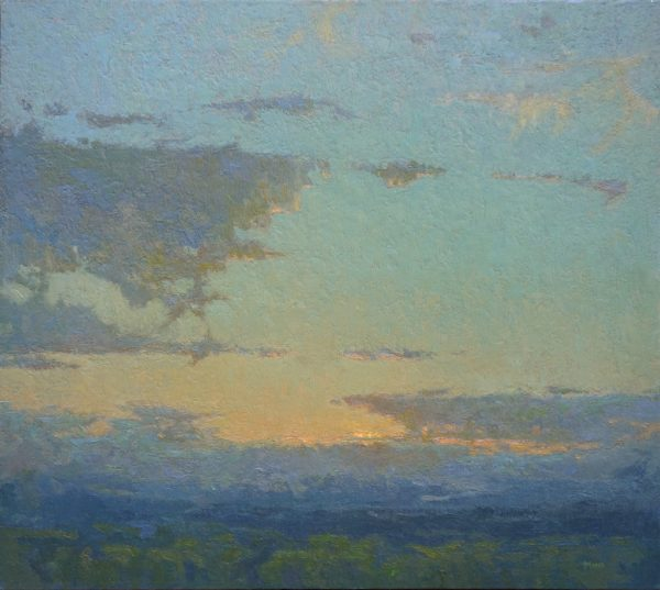 """American Legacy Fine Arts presents """"Wandering Companions"""" a painting by Jennifer Moses."""