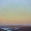"American Legacy Fine Arts presents ""Veiled Moon"" a painting by Jennifer Moses."