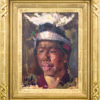 "American Legacy Fine Arts presents ""Guezhou Girl, South China"" a painting by Jove Wang."