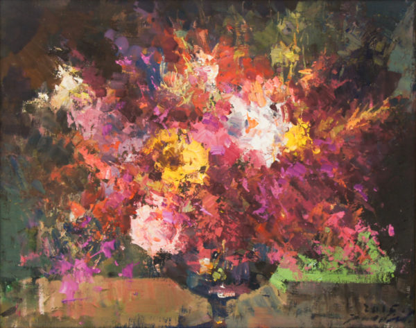 """American Legacy Fine Arts presents """"My New Life"""" a painting by Jove Wang."""