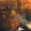 "American Legacy Fine Arts presents ""Autumn Season"" a painting by Jove Wang."
