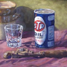 "American Legacy Fine Arts presents ""Old Wrench"" a painting by Scott W. Prior."