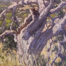 """American Legacy Fine Arts presents """"Struck by Lightning"""" a painting by Scott W. Prior."""