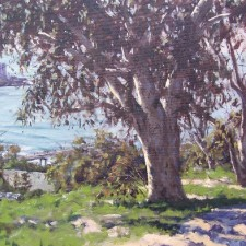 """American Legacy Fine Arts presents """"S Plus W"""" a painting by Scott W. Prior."""