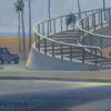 "American Legacy Fine Arts presents ""Pedestrian Walkway, PCH"" a painting by Tony Peters."