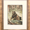 "American Legacy Fine Arts presents ""Siegfried and the Bear"" a painting by William Stout."