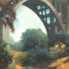 """American Legacy Fine Arts presents """"Colorado Street Bridge"""" a painting by Wiliam Stout."""
