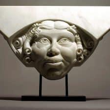 "American Legacy Fine Arts presents ""Ma Troppo"" a sculpture by Béla Bácsi."