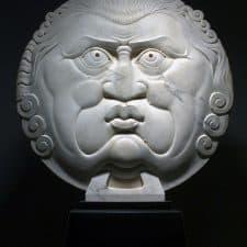 """American Legacy Fine Arts presents """"Sole e' Brutto Grande"""" a sculpture by Béla Bácsi."""