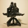"American Legacy Fine Arts presents ""Swinging Sisters"" a sculpture by Béla Bácsi."
