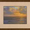 "American Legacy Fine Arts presents ""Golden Horizon"" a painting by Peter Adams."