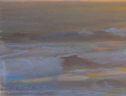 """American Legacy Fine Arts presents """"Golden Horizon"""" a painting by Peter Adams."""
