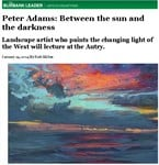 Peter Adams Featured in the Burbank Leader January 24, 2014 Issue