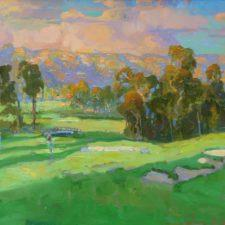 American Legacy Fine Arts presents Summer Clouds a painting by Peter Adams