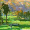 "American Legacy Fine Arts presents ""Summer Clouds"" a painting by Peter Adams"