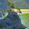 "American Legacy Fine Arts presents ""Summer Morning at Russian Gulch"" a painting by Peter Adams"