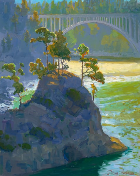 Summer Morning at Russian Gulch by Peter Adams