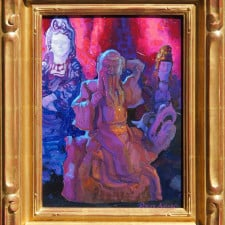 American Legacy Fine Arts presents Taming Dragon Lohan a painting by Peter Adams.