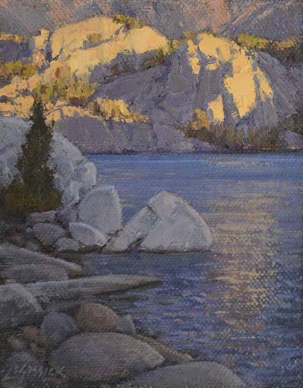 "American Legacy Fine Arts presents ""Study for What a Little Sunlight Will Do"" a painting by Jean Le Gassick."