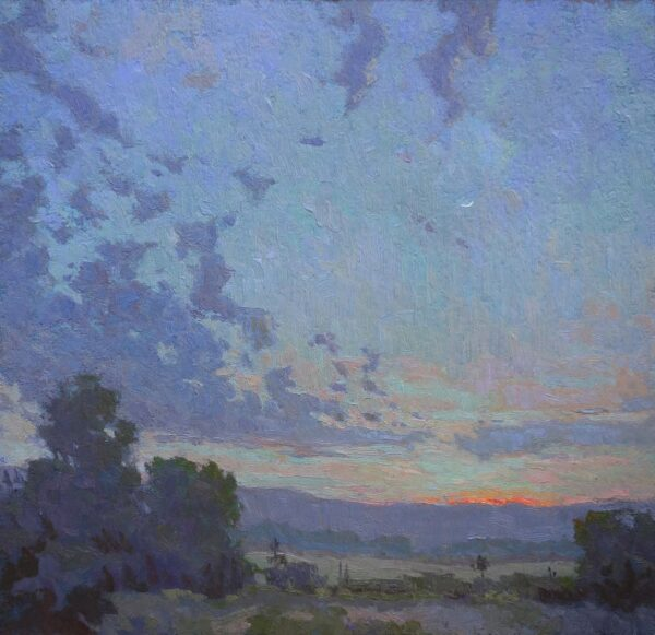 "American Legacy Fine Arts Presents ""Celestial Nocturne"" a painting by Jennifer Moses."