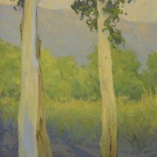 "American Legacy Fine Arts presents ""Fall Shadows"" a painting by Jennifer Moses."