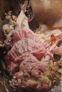 "American Legacy Fine Arts presents ""Slumber"" a painting by Teresa Oaxaca."