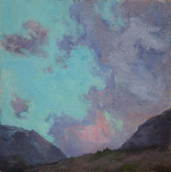 """American Legacy Fine Arts presents """"Crest of Glory"""" a painting by Amy Sidrane."""