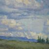 "American Legacy Fine Arts presents ""Nomads of the Sky"" a painting by Amy Sidrane."