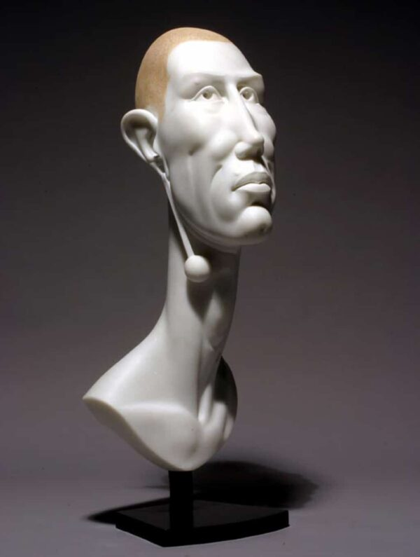 "American Legacy Fine Arts presents ""Testarosa"" a sculpture by Béla Bácsi."