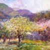 "American Legacy Fine Arts presents ""Spring in Malibu"" a painting by George Gallo."