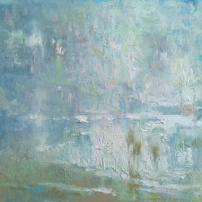 "American Legacy Fine Arts presents ""Seashore Glare"" a painting by David C. Gallup."