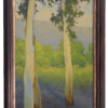 """American Legacy Fine Arts presents """"Fall Shadows"""" a painting by Jennifer Moses."""